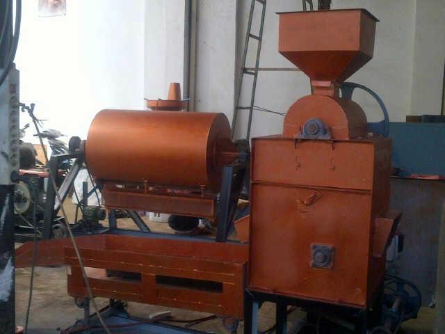 Mesin Pecah Kulit Kacang & Penggoreng Kacang ...